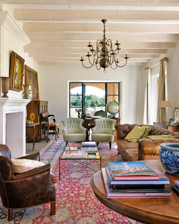 Mediteranska kuća uređena prema Britanskim utjecajima  MojStan.net