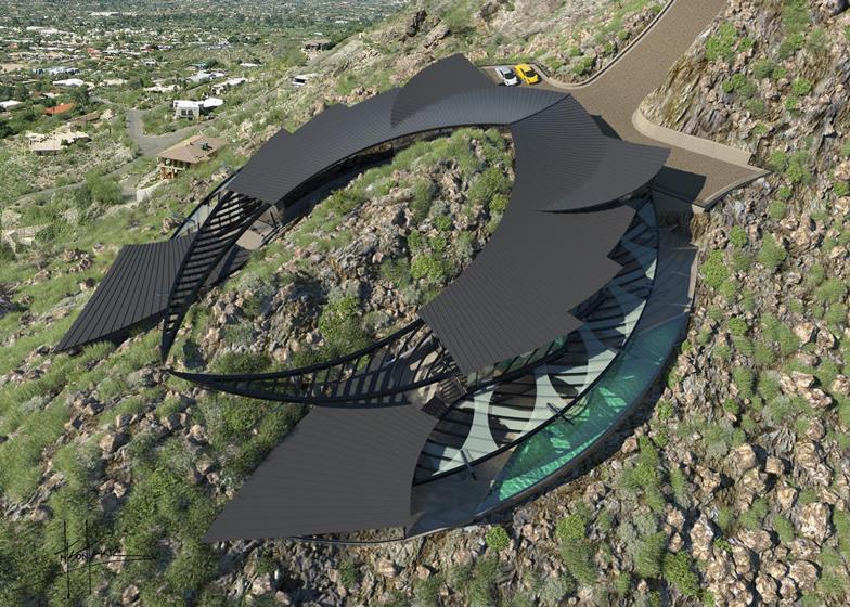 Futuristička kuća na vrhu planine  MojStan.net