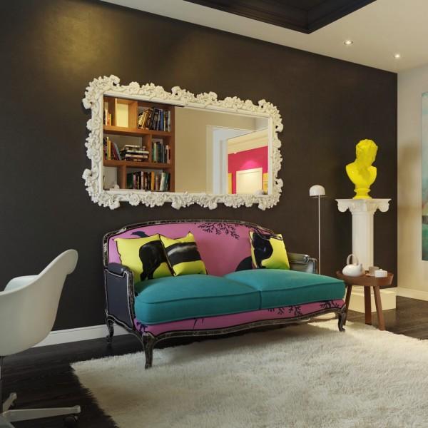Moderan stan uređen u pop art stilu  MojStan.net