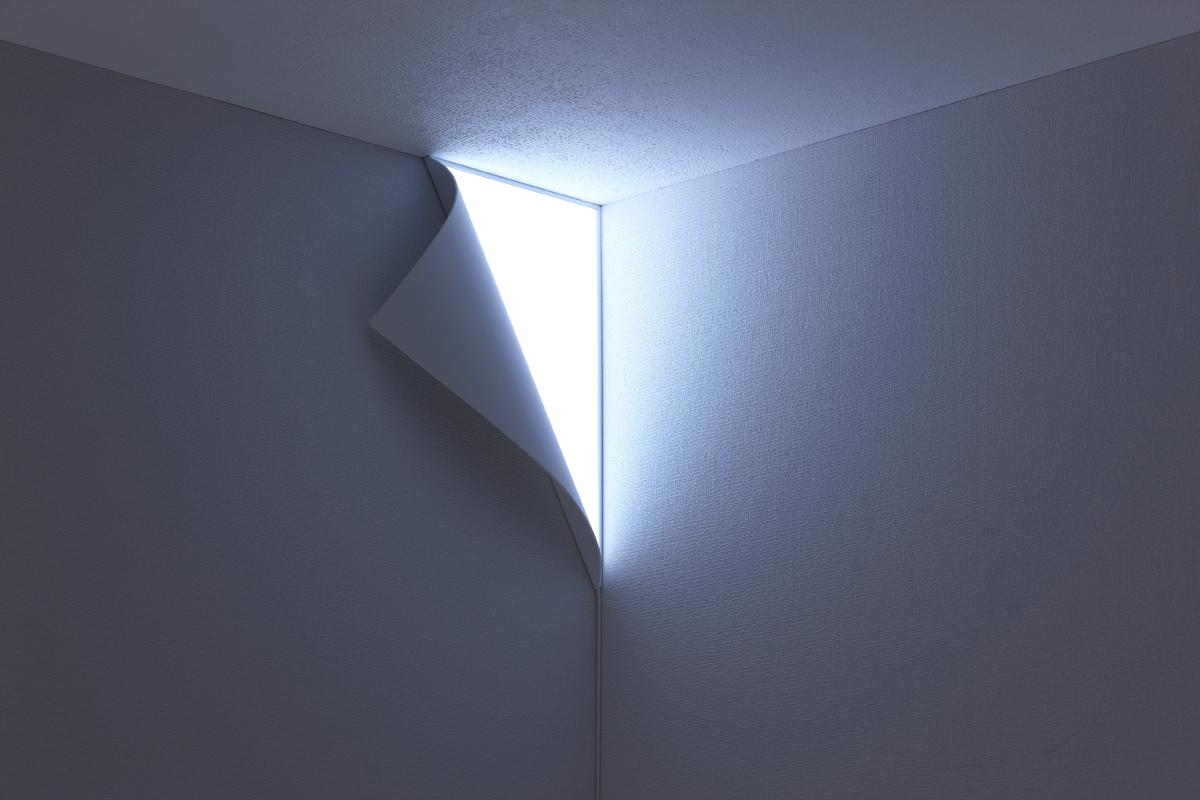 Sakrivena kutna zidna lampa 2