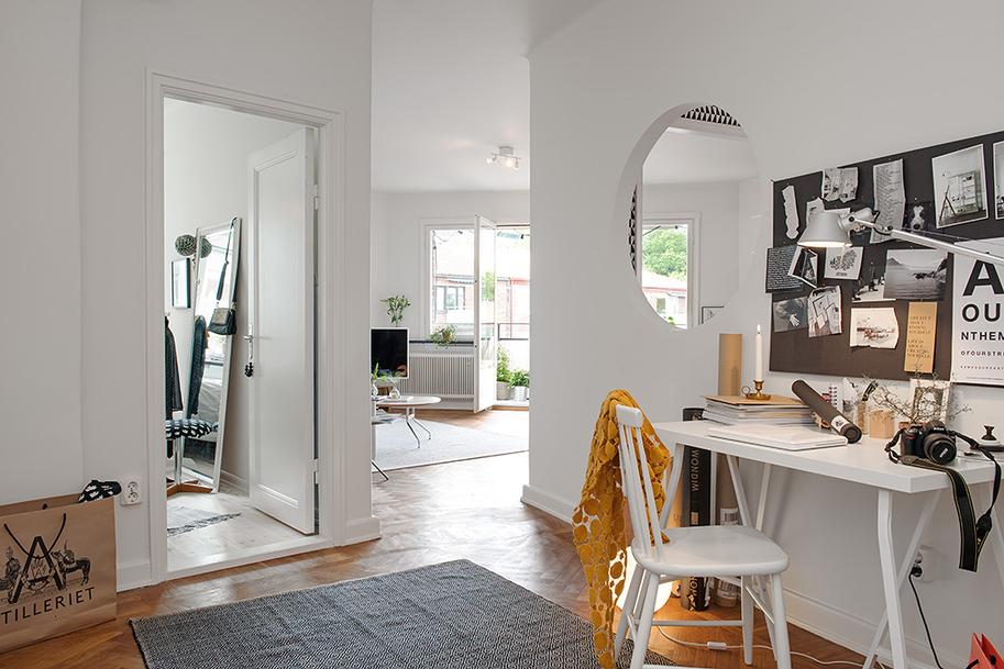 Švedski primjer uređenja stana  MojStan.net