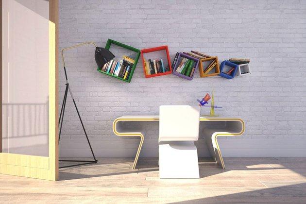 Kreativne police za knjige  MojStan.net