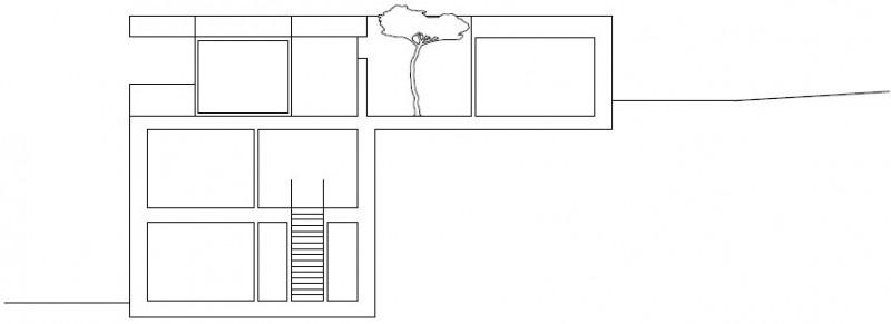 Kuća izvedena u kombinaciji drva i betona  MojStan.net