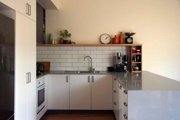 Kuhinje u bijeloj i sivoj boji  MojStan.net
