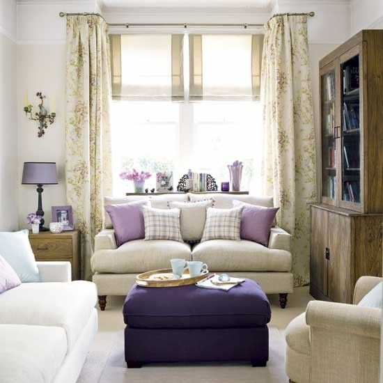 Dazzling Purple Living Room Designs: Dnevni Boravci U Ljubičastim Bojama