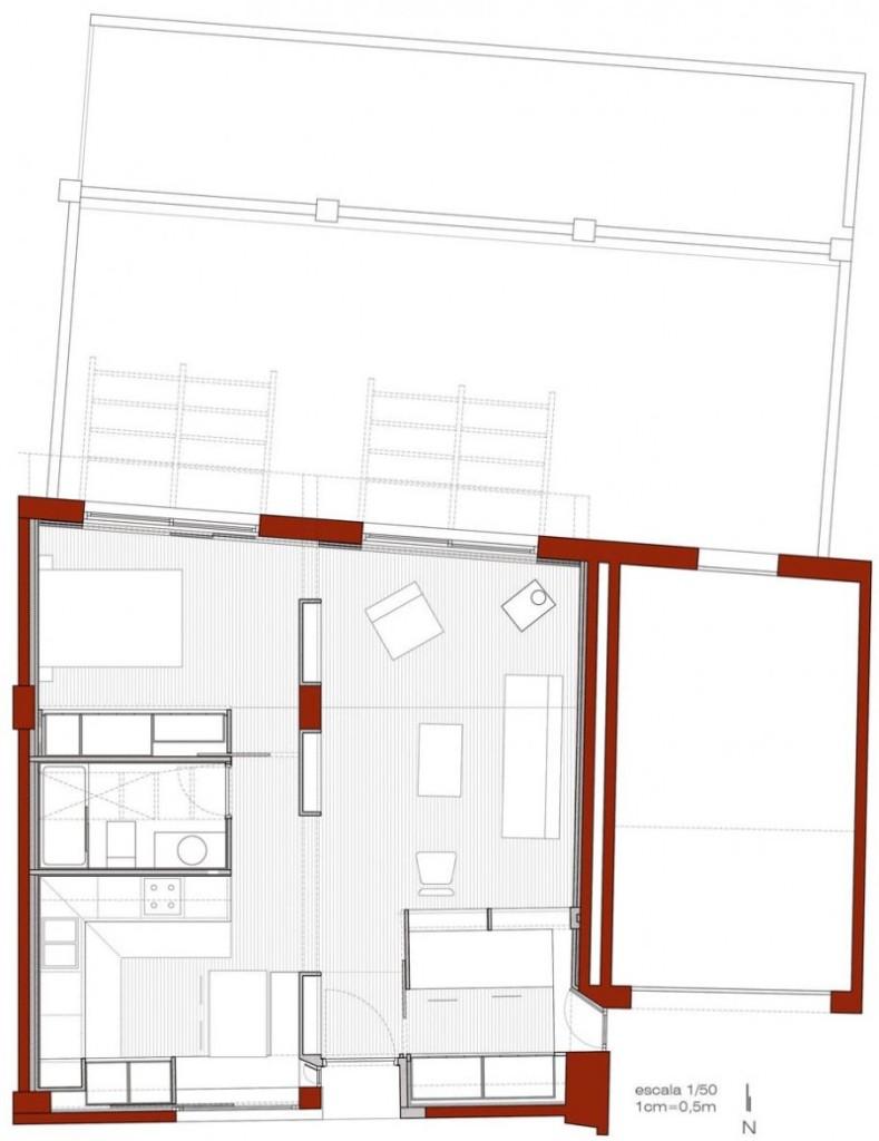 Stara staja pretvorena u udoban moderni dom  MojStan.net
