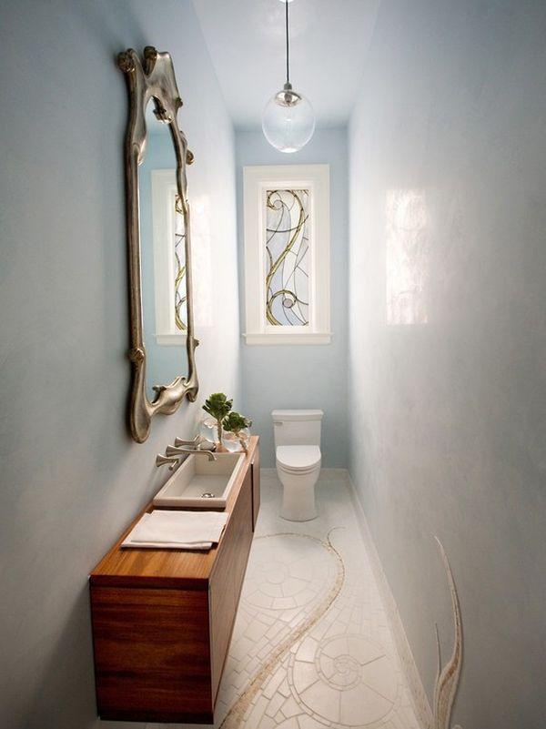 Nekoliko primjera uređenja uskih wc-a  MojStan.net