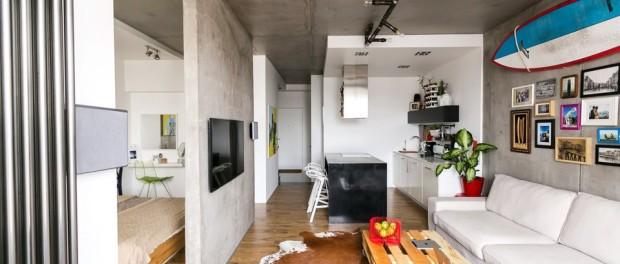Stvorili su dom u golom betonu  MojStan.net