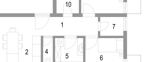 Adaptacija stana – dvosobni stan pretvoren u trosobni  MojStan.net
