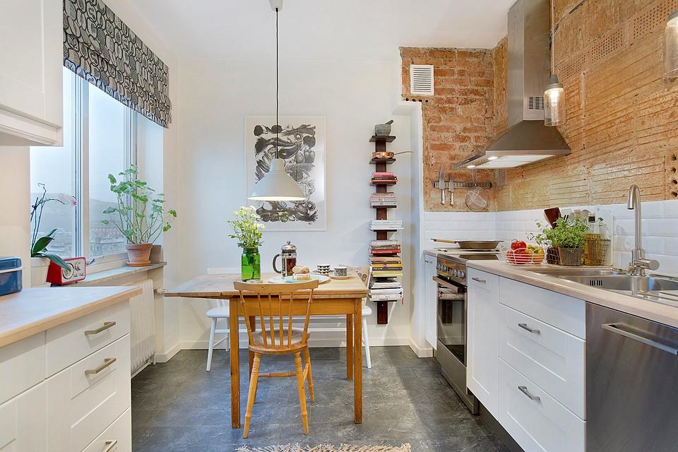 Kuhinja uređena u skandinavskom stilu  MojStan.net