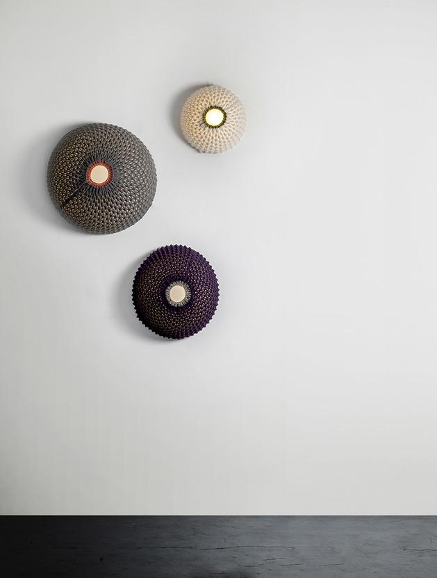 Moderni pleteni lusteri Knitted  MojStan.net