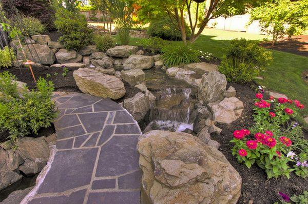 Kamenje za pririodan izgled vrta  MojStan.net