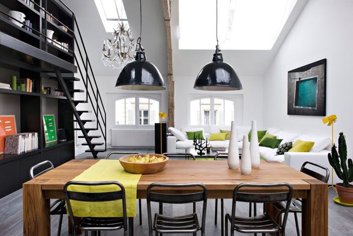 Moderni stan u potkrovlju