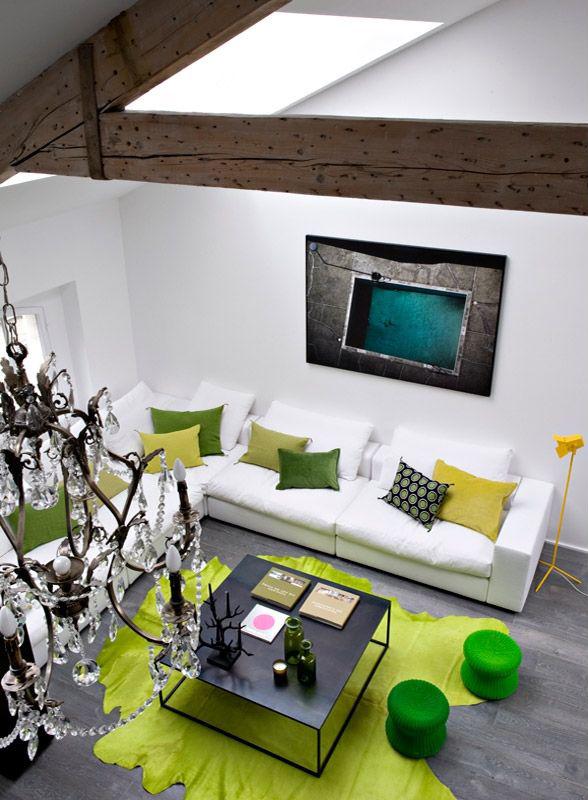 Moderni stan u potkrovlju  MojStan.net