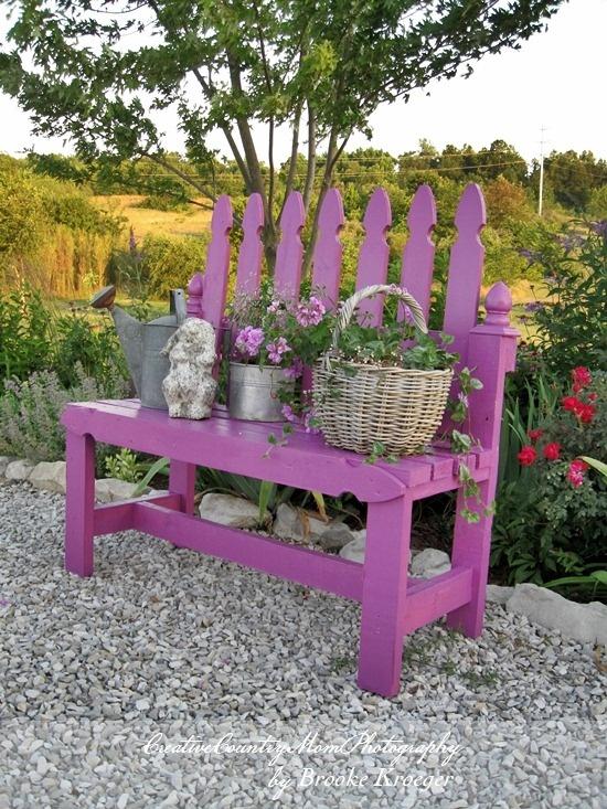 Vrtna klupa, važan dio svakog vrta  MojStan.net