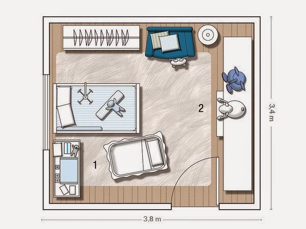 Ideje za uređenje dječje spavaće sobe  MojStan.net