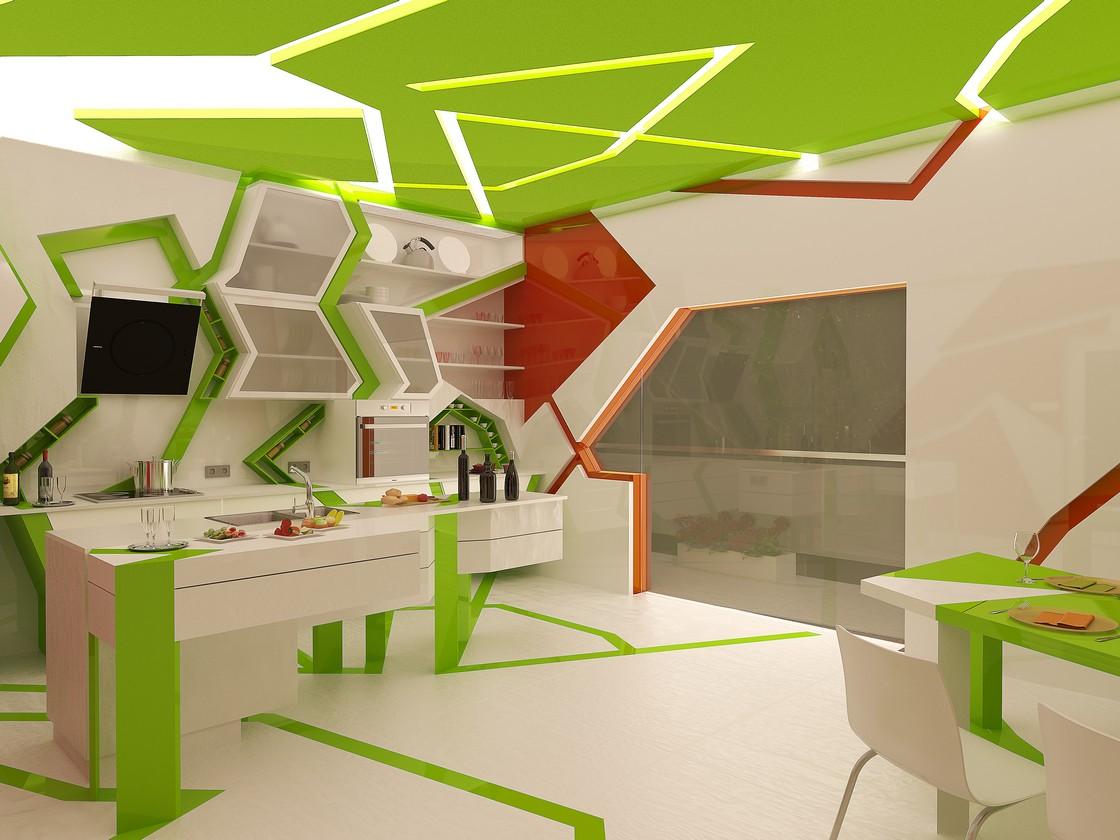 Kubizam u kuhinji  MojStan.net