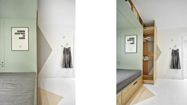 Kreativno rješenje za spavaću sobu  MojStan.net