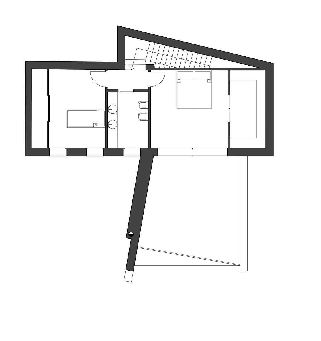 Stara kuća pretvorena u moderan dom  MojStan.net