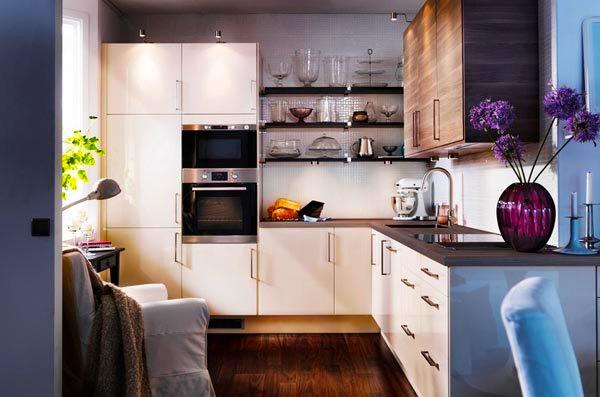 Ideje za ure enje kuhinje u malom prostoru - Plan de travail separation cuisine sejour ...