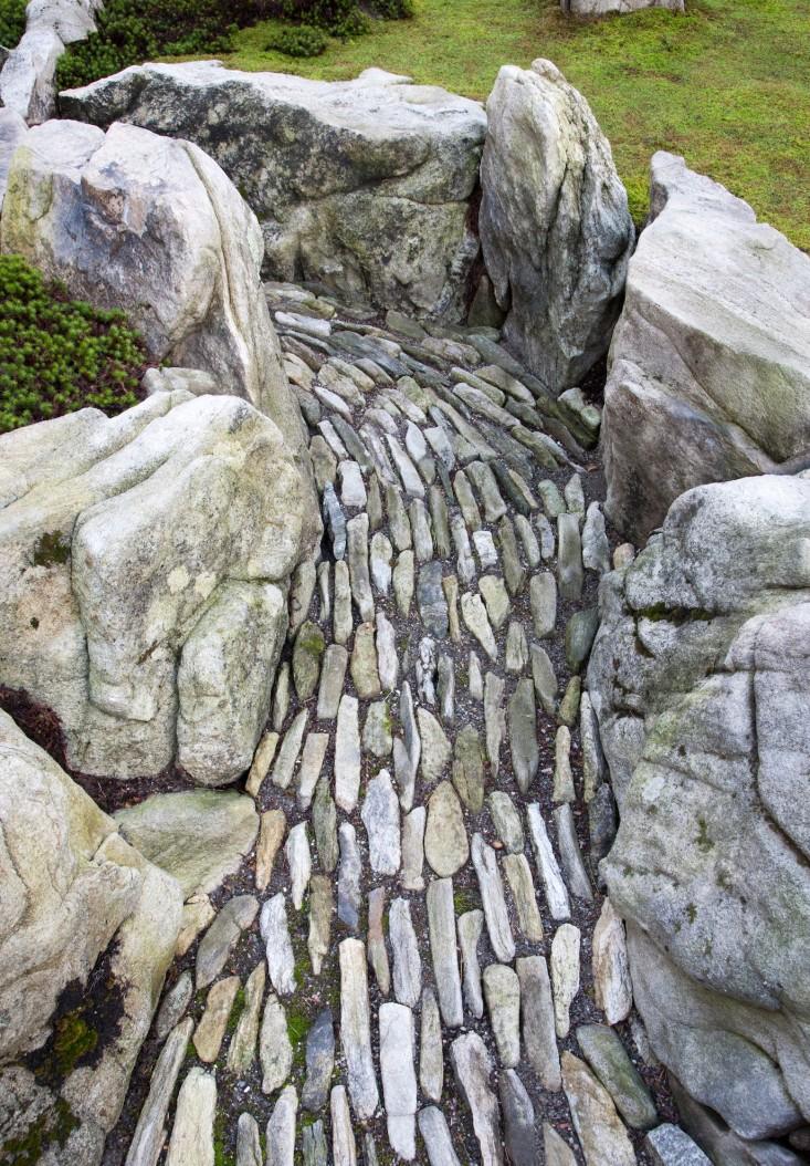 River Rock Stone : Japanski vrt u new yorku mojstan