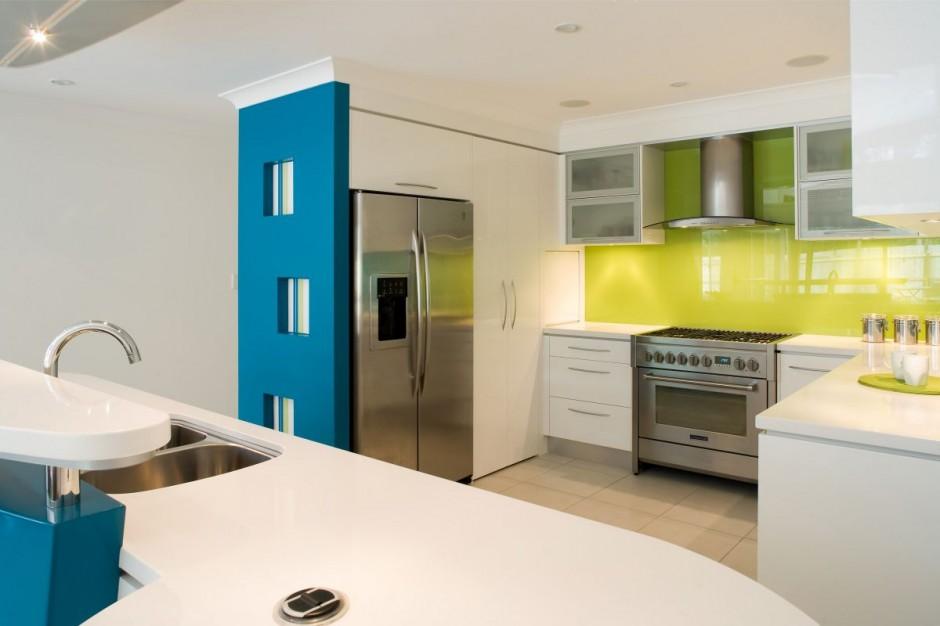 Kuhinja inspirirana bojama mora  MojStan.net