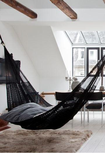 Mreža za ležanje kao dio interijera  MojStan.net