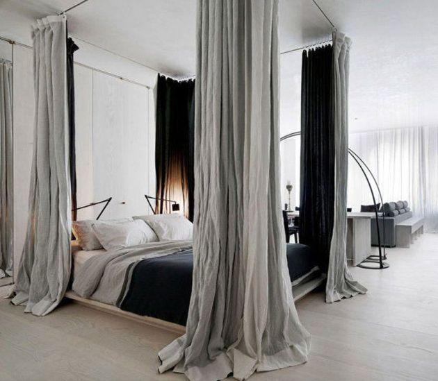 Baldahini za romantičan izgled spavaće sobe  MojStan.net