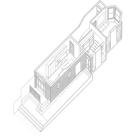 Knjižnica u stepenicama  MojStan.net