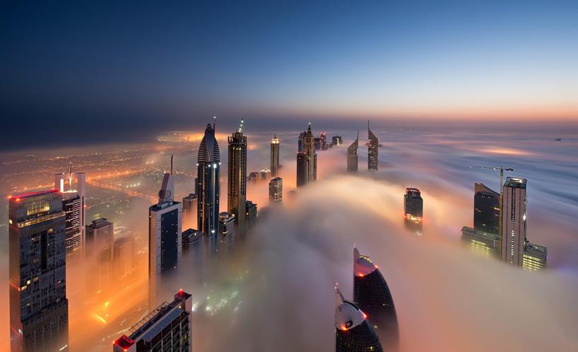 Nebeski pogled na nebodere u Dubaiju  MojStan.net