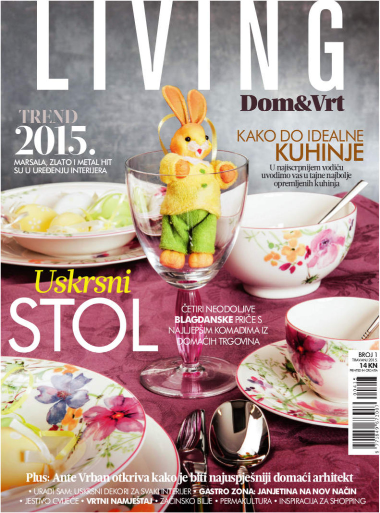 Novi magazin za umijeće življenja Dom&vrt living  MojStan.net
