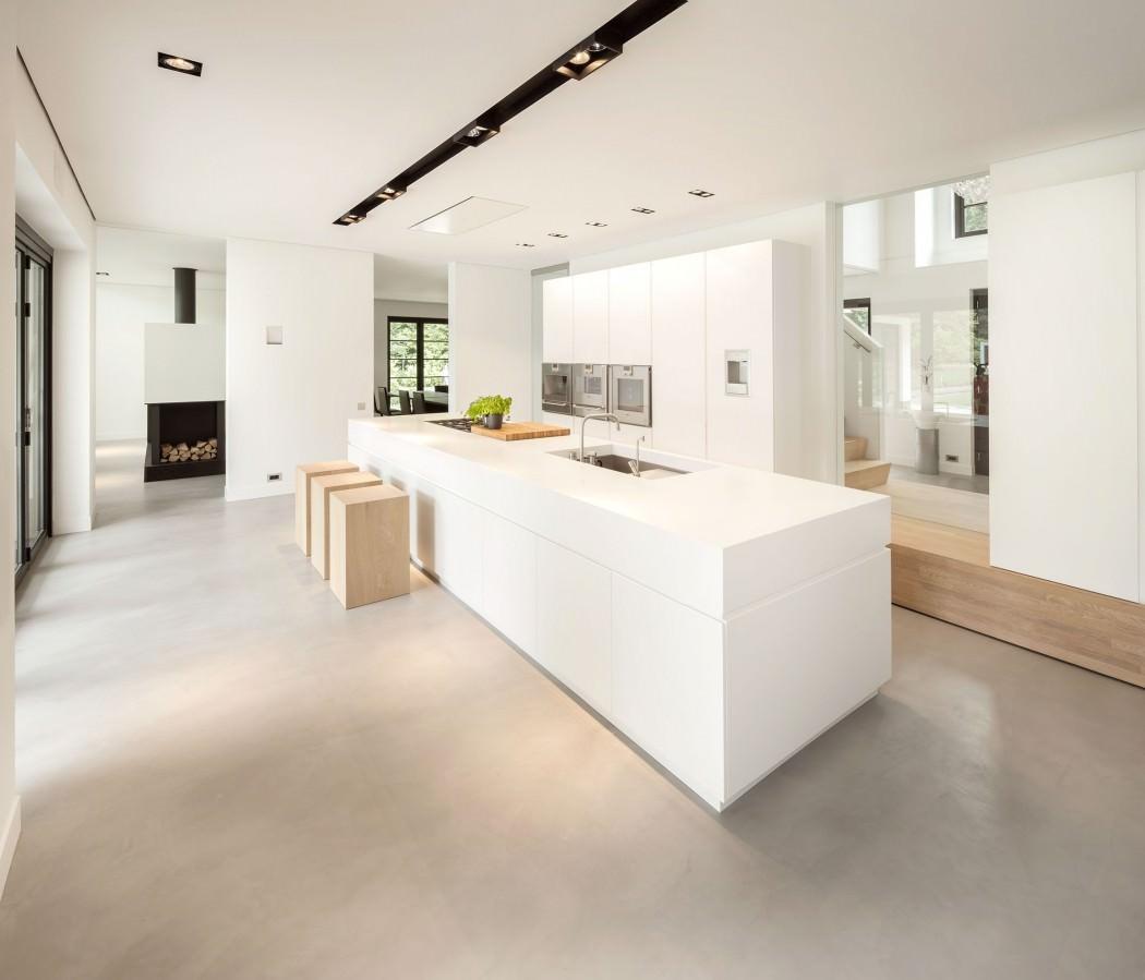 Moderne bijele kuhinje - Tipos de suelos para casas ...