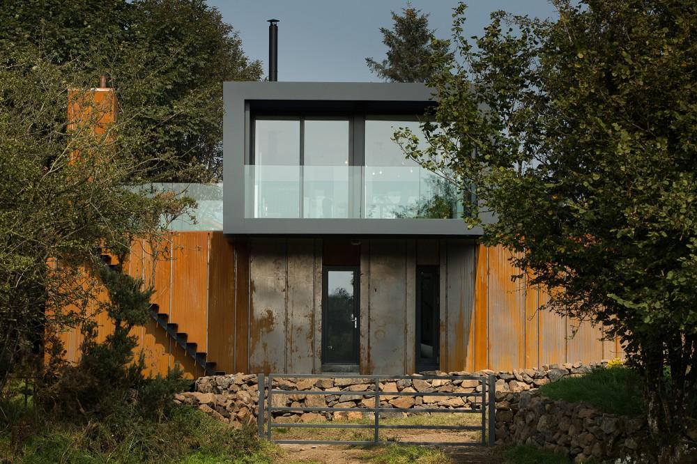 Kuća izgrađena od kontejnera  MojStan.net