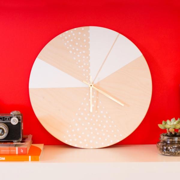DIY – izradite originalni zidni sat  MojStan.net