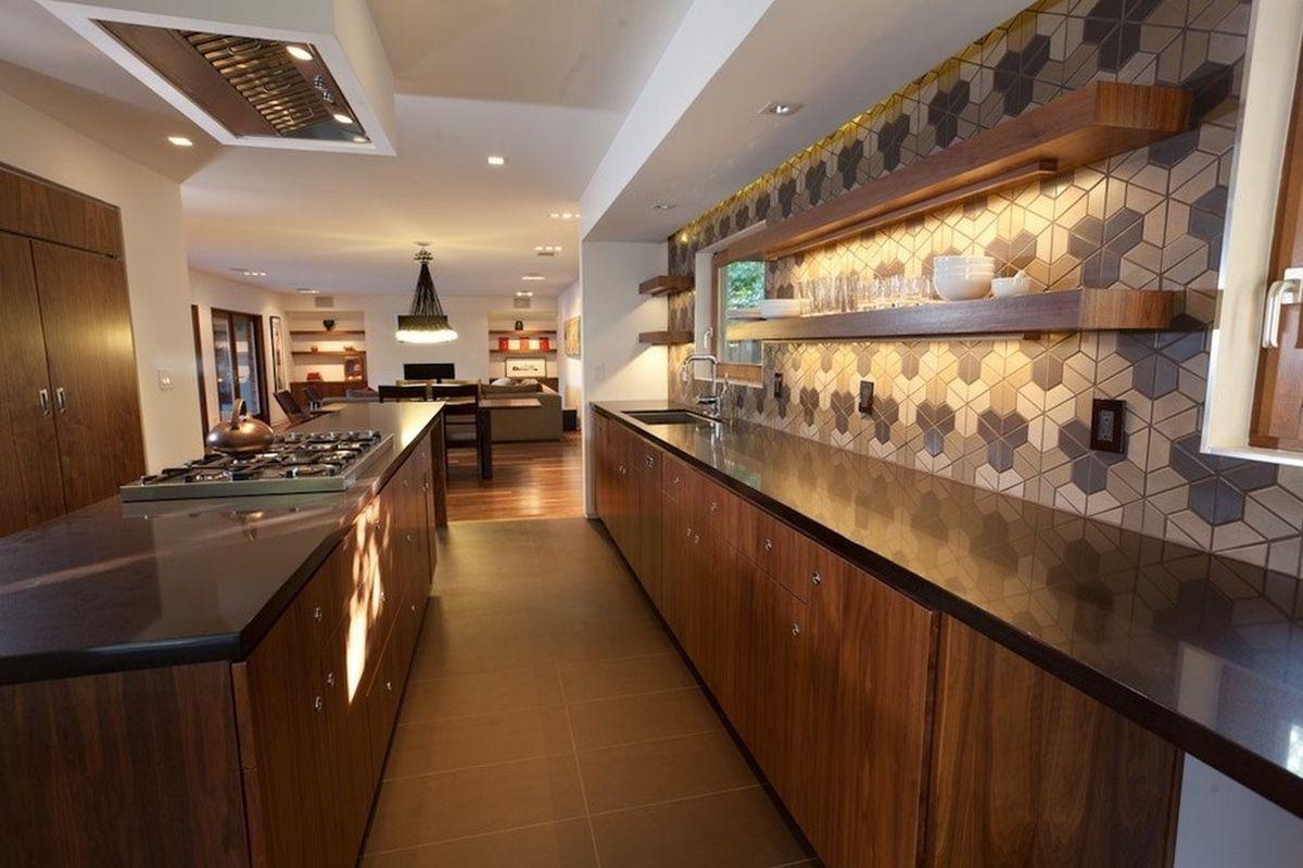 Zidne pločice geometrijskog dizajna za kuhinju  MojStan.net