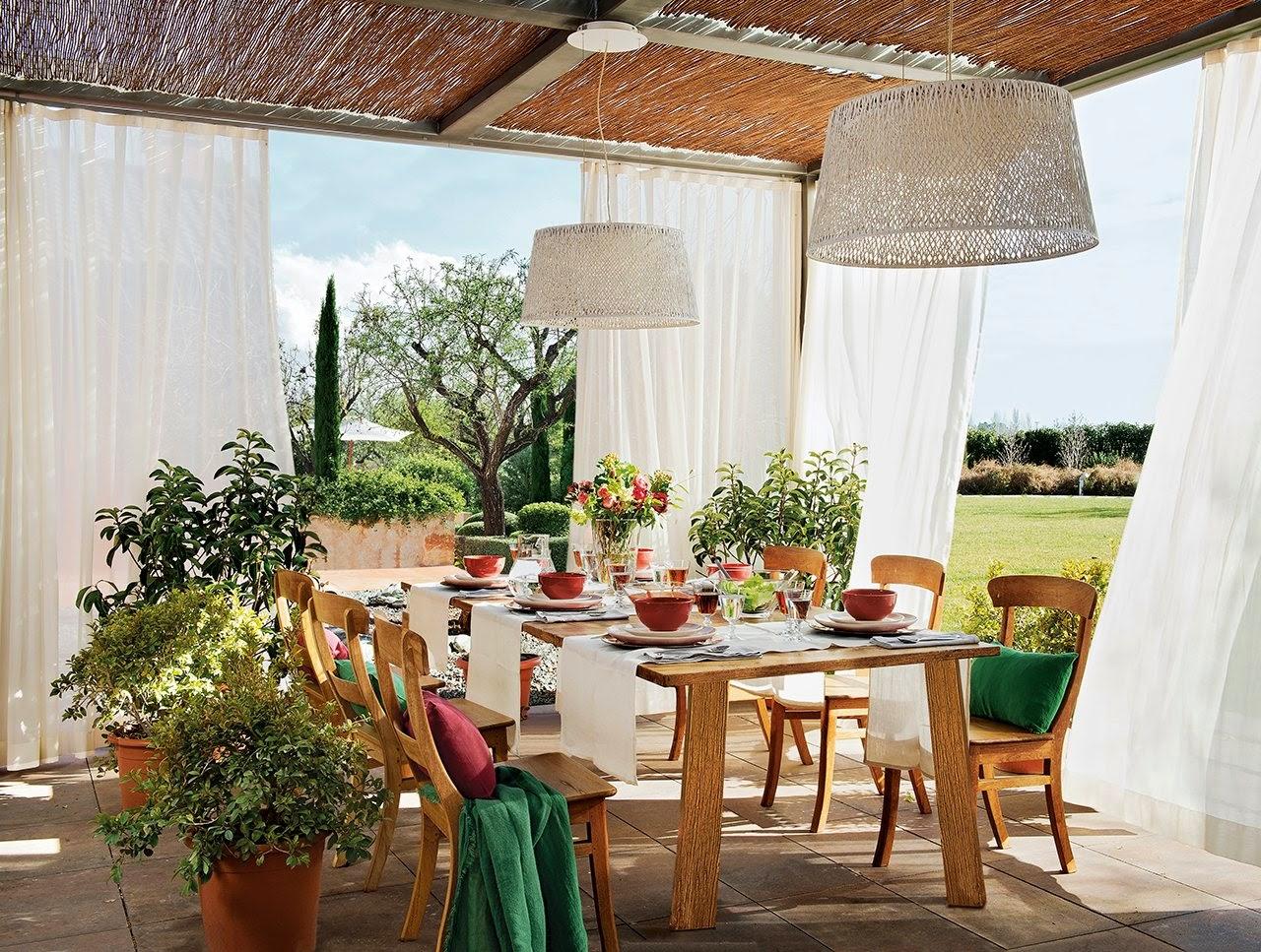 30 ideja za ure enje ljetne terase - Comedor terraza ...