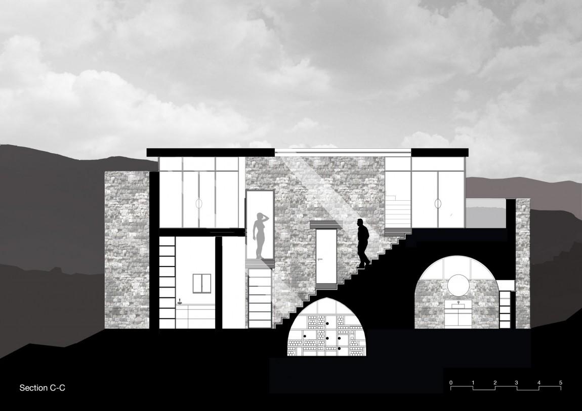 Kamena kuća by Henkin Shavit Architecture & Design  MojStan.net