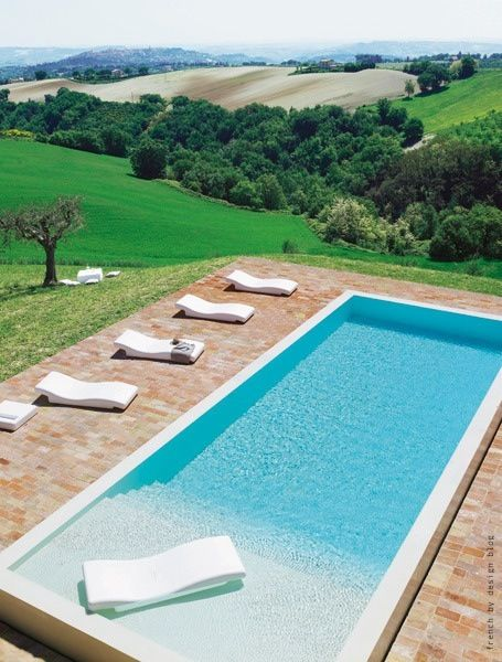 Prekrasni bazeni za u ivanje for Italian pool design 7