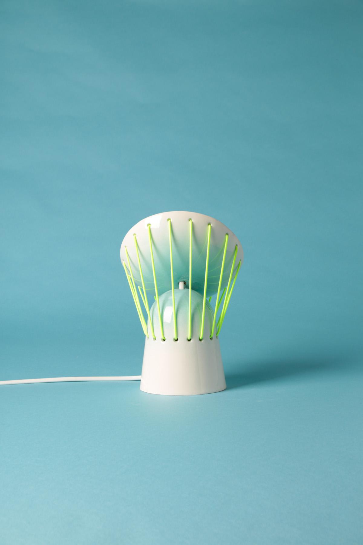 Elastične keramičke lampe by Marta Bordes  MojStan.net