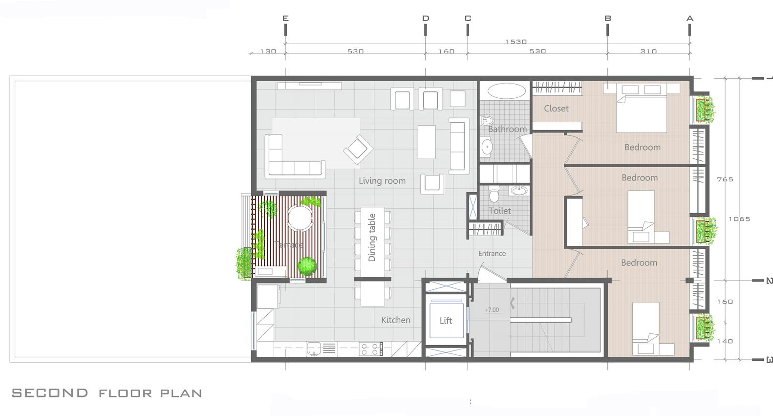 Kuća 144 by Ali Sodagaran + Nazanin Kazerounian  MojStan.net