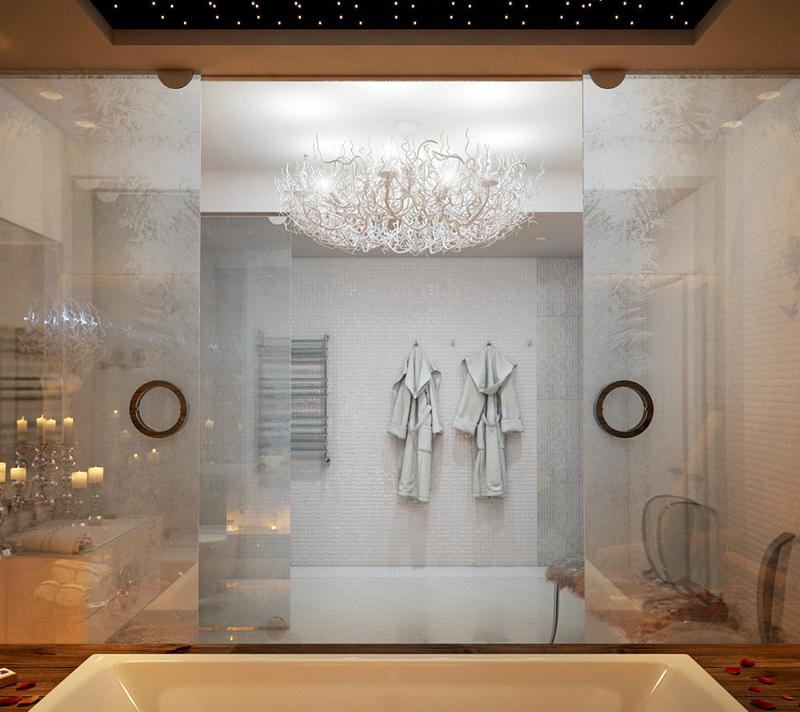 Luksuzna kupaonica sa kaminom  MojStan.net