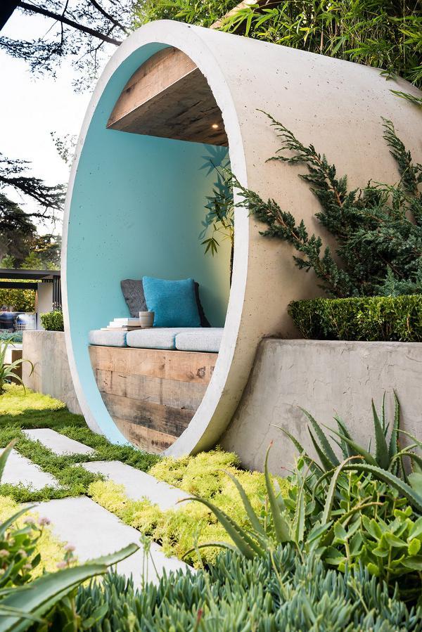 Uređenje vrta – Skrivena oaza u betonskoj cijevi  MojStan.net