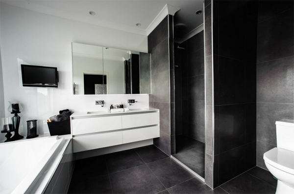 Sive pločice u kupaonici  MojStan.net