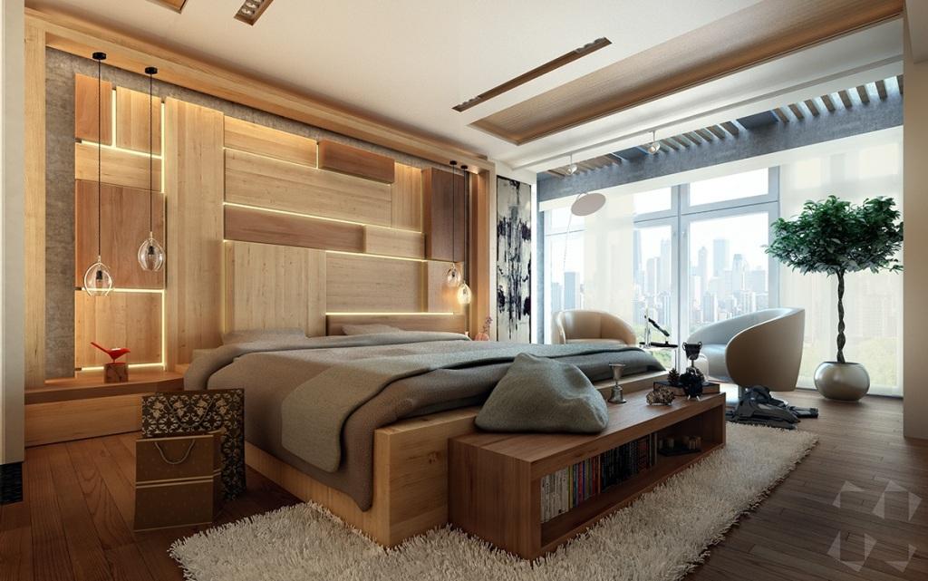 Muška spavaća soba i garderoba u jednom  MojStan.net