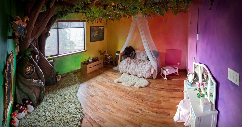 Kada supertata pretvori spavaću sobu u zemlju iz bajke