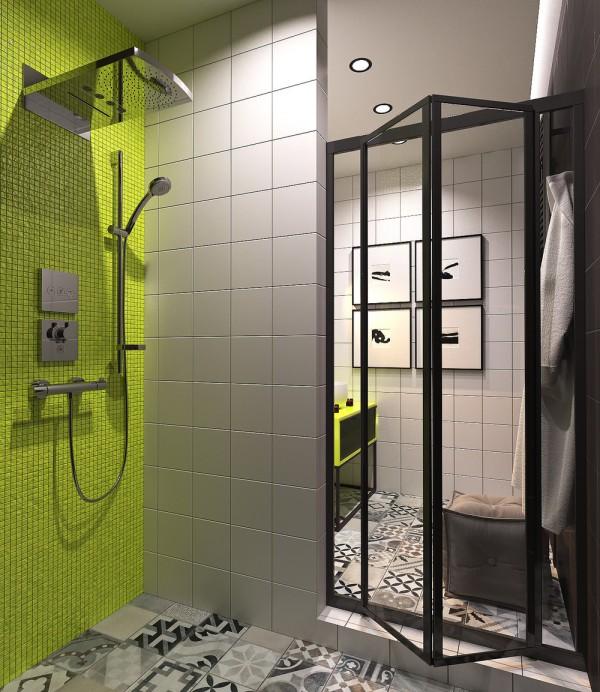 Mali stan sa detaljima u neonskim bojama  MojStan.net