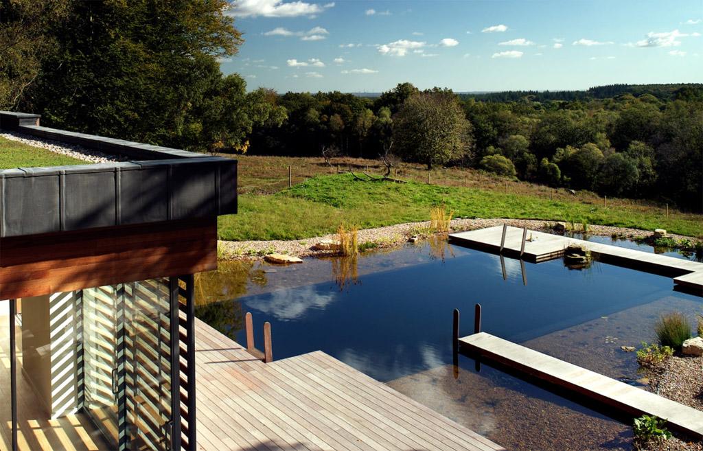 Moderna kućica sa bazenom by PAD Studio Architects  MojStan.net