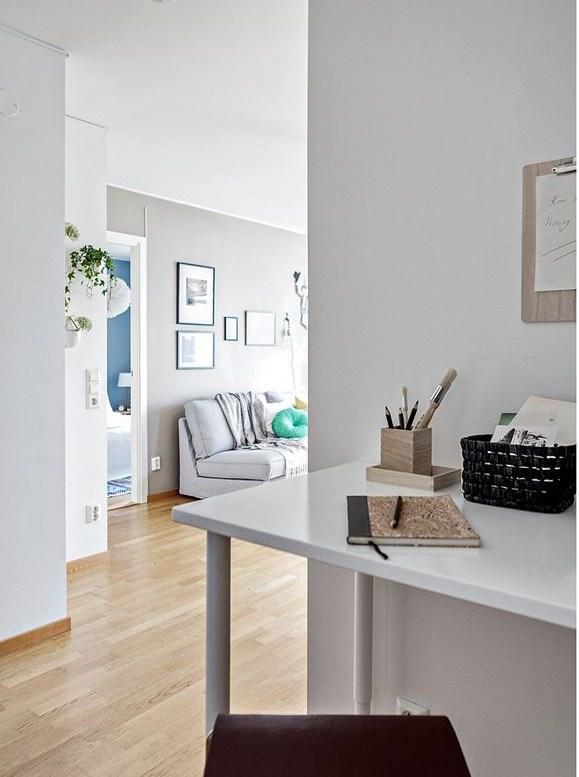 Simpatičan mali stan i prepoznatljivi skandinavski stil  MojStan.net