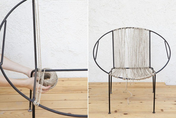 Kako isplesti istrošeno sjedište stolice?