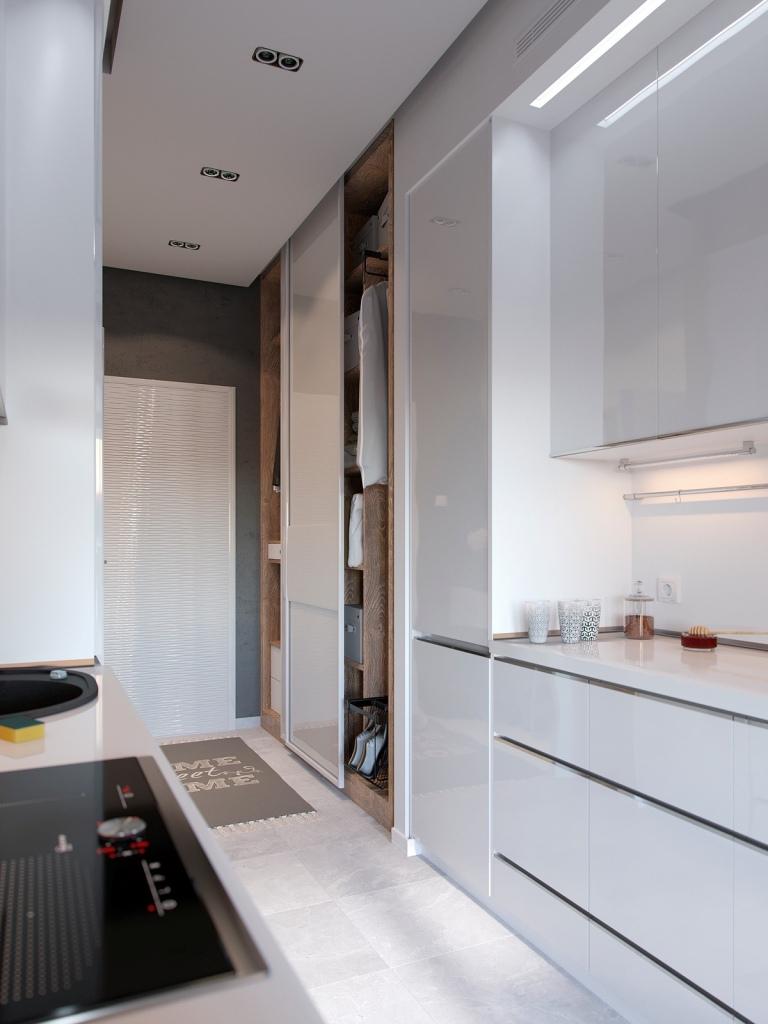 Prekrasan primjer uređenja stana od 30 kvadrata  MojStan.net